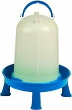 Poultry Waterer With Legs Blue Amp White 3 Quart Item No Dt9872