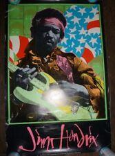 Jimi Hendrix 1995 Frank Kozik 1st Printing Poster