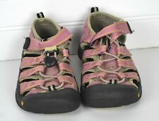 Girls KEEN Sz 11 Pink Newport Waterproof Sandals Outdoor Shoes Water Beach