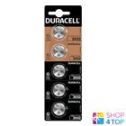 5 DURACELL CR2032 LITHIUM BATTERIEN 3V COIN CELL DL2032 EXP 2028 NEU