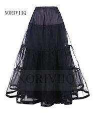 Vintage Women Long Petticoat Rockabilly Layered Skirt Crinoline Underskirt Tutu
