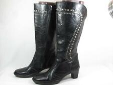 Josef Seibel Tall Studded Boot Women size 38 US 8-8.5 Black