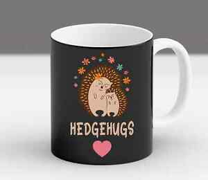 Hedgehugs Funny Hedgehog Mothers Day Floral Animals Cute Gift For Her Coffee Mug