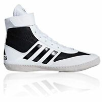 Boxing Boots Wrestling Shoes Mens Adidas Combat Speed 5 White Lace Up