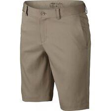 cdf8de123c41 Boys Youth Nike Flex Flat Front Shorts Dri Fit Khaki M Medium 832770 235