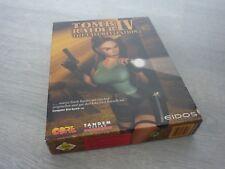PC BIG BOX WIN CD-ROM Game - Tomb Raider IV 4 - The Last Revelation - Deutsch