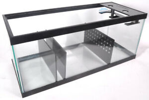 REFUGIUM KIT - 20 Gallon Long Aquarium Sump Kit - Dual Filter Sock Holder