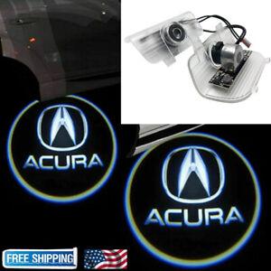 For ACURA RDX 2013-2017 2x LED Laser Door Logo Ghost Shadow Projector Lights