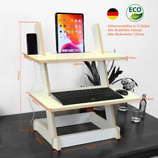 Stand Desk Sturdy, Monitor Stehtisch, Stehpult, Stehschreibtisch, Laptop Tisch