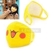 HOT Anime Pocket Pokemon Pikachu Face Mouth Mask Muffle Anti-Dust Cute