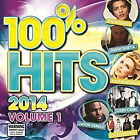 100% Hits 2014, Vol. 1 by Various Artists (CD, Apr-2014, Warner Music)