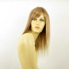 Perruque femme mi-longue blond clair cuivré méché blond clair VERA 27t613