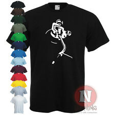 Platine Dj Club vinyle dance musique Techniques pont roues of acier T-shirt