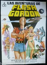 FLESH GORDON 1974 SPANISH POSTER 1 SHT JASON WILLIAMS SUZANNE FIELDS SEX COMEDY