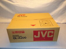 JVC QL-A200  Vintage Turntable with New Cartridge NEW in BOX Japan