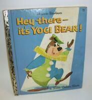 A Little Golden Book Hey There - It's Yogi Bear  1964