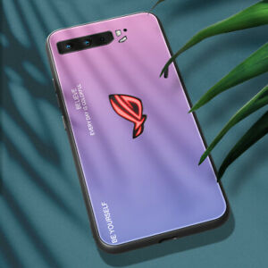 For ZTE nubia Red Magic 6 / Magic 5G Case Tempered Glass Gradient Back Cover