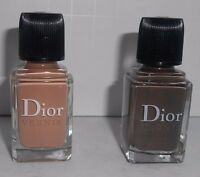 2 piece Christian Dior Vernis Nail Polish .33 oz GREGE & DUNE *Unbox