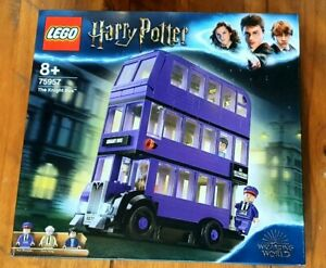 NEW LEGO 75957 HARRY POTTER THE KNIGHT BUS BRAND NEW SEALED