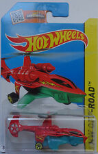 2015 Hot Wheels HW OFF-ROAD Sky Knife 94/250 (Red Version)(Int. Card)