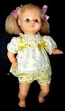 "1986 HORSMAN 17"" Baby Doll Blonde, Blue Sleep Eyes, Vinyl/Cloth"
