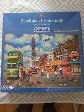 Blackpool Promenade Gibsons Jigsaw Puzzle 500 Pieces COMPLETE.Good Condition