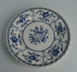 "Johnson Brothers Indies 20.5cm 8"" round salad luncheon plates x3. Vintage Unused"