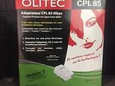 OLITEC Adaptateur CPL 85Mbps