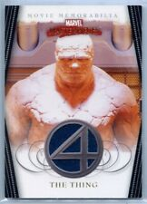 MARVEL MASTERPIECES 2008 - FANTASTIC 4 COSTUME CARD - THE THING