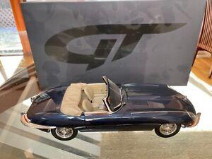 GT Spirit 1/12 Jaguar XKE Cabriolet Blue (GT219)