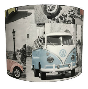 VW Lampshades Ideal To Match Volkswagen Duvets, Volkswagen Wallpaper VW Cushions