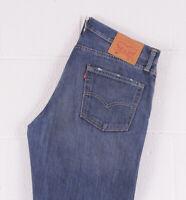 Vintage LEVI'S 504 Blue Straight Fit Men's Jeans 36W 32L 36/32 /BC017