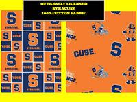 Clemson Tigers NCAA Buffalo Plaid Cotton Fabric-CLEM-1207-$9.49//yd