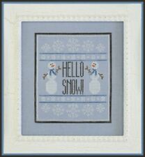 Hello Snow! - Country Cottage Needleworks New Chart