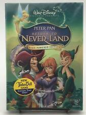 Peter Pan Return to Never Land (DVD, Pixie Powered Edition) Sealed! Brand New