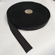 Meterware Noppen antirutsch Silikon Gummiband 25mm schwarz
