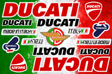 Ducati Decals Stickers Motorcycle Vinyl Graphics Autocollant Aufkleber Adesivi
