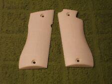 Custom Grips for Star BM, BKM Fully Checkered Pearl White