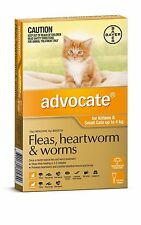 Advocate Flea and Worm Treatment for Cats 4kg (6 Pack)