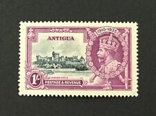 {BJ Stamps} ANTIGUA, 1935 KGV Jubilee 1s DOT by FLAGSTAFF variety, MVLH, SG 94h