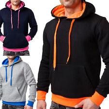 Herren-Fitnessmode im Sweatshirts & Fleece-Stil mit Taschen für Fitness