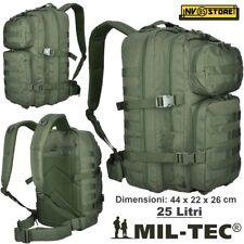 Rucksack Tactical Stealth Mil-Tec Miltec Assault 25-30 Liter Grün Softair