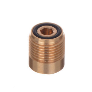 """Brass Nozzle Coupling for KARCHER HD HDS Pressure Washers Adaptor 1/4""""F x M18M"""