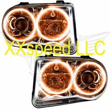 ORACLE Halo HEADLIGHTS NON HID Chrysler 300C V8 05-10 AMBER LED Angel Demon Eyes