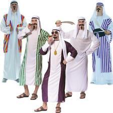 Gli Arabi Nero Costume sceicco Orient costume sceicco saudita principe re XL 54 56
