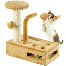Cat Tree Scratching Condo Furniture Scratch Post Pet Play House Kitten Play Toy