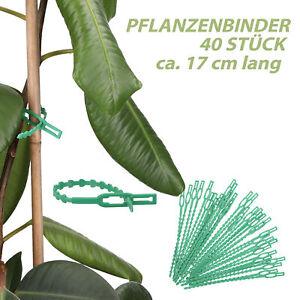Pflanzenbinder Rankhilfe Wickeldraht Bindedraht Pflanzenhalter Pflanzenstütze