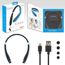 Retractable Bluetooth Headset Foldable Headphone Wireless Sport Neckband Earbuds