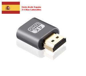 HDMI Display Emulator DDC EDID Ghost Dummy Emulador Pantalla Anydesk Teamviewer
