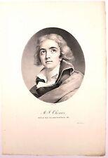 Portrait de Marie-Joseph Chenier d'après Sudré
